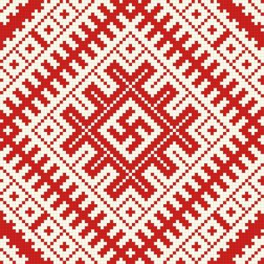 Ethnic slavic seamless pattern#8