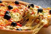 Fotografia pizza italiana