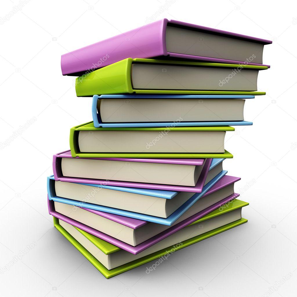 Стопка книг фото
