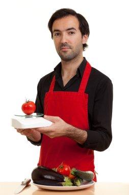 Chef tomatoe scale