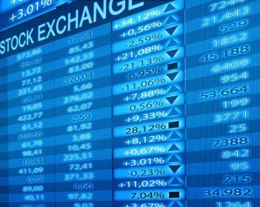 Stock exchange stock vector