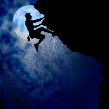 Couragous Climber