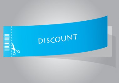 Special blue discount coupon