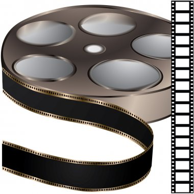 Film reel - vector