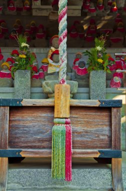Japanese temple detail