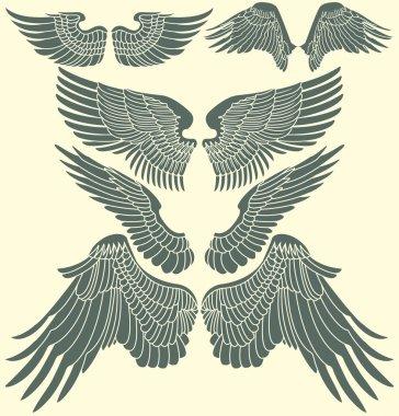 Wings tribal set