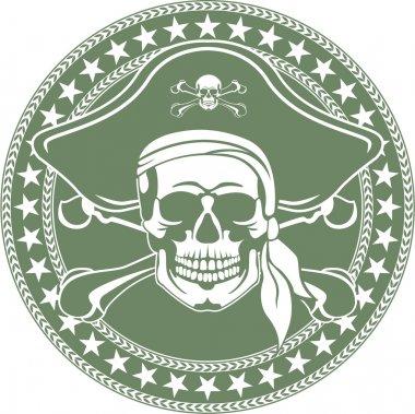 Cheerful Roger's emblem