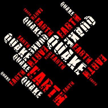 Cracked earthquake word