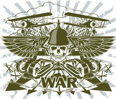 World war emblem