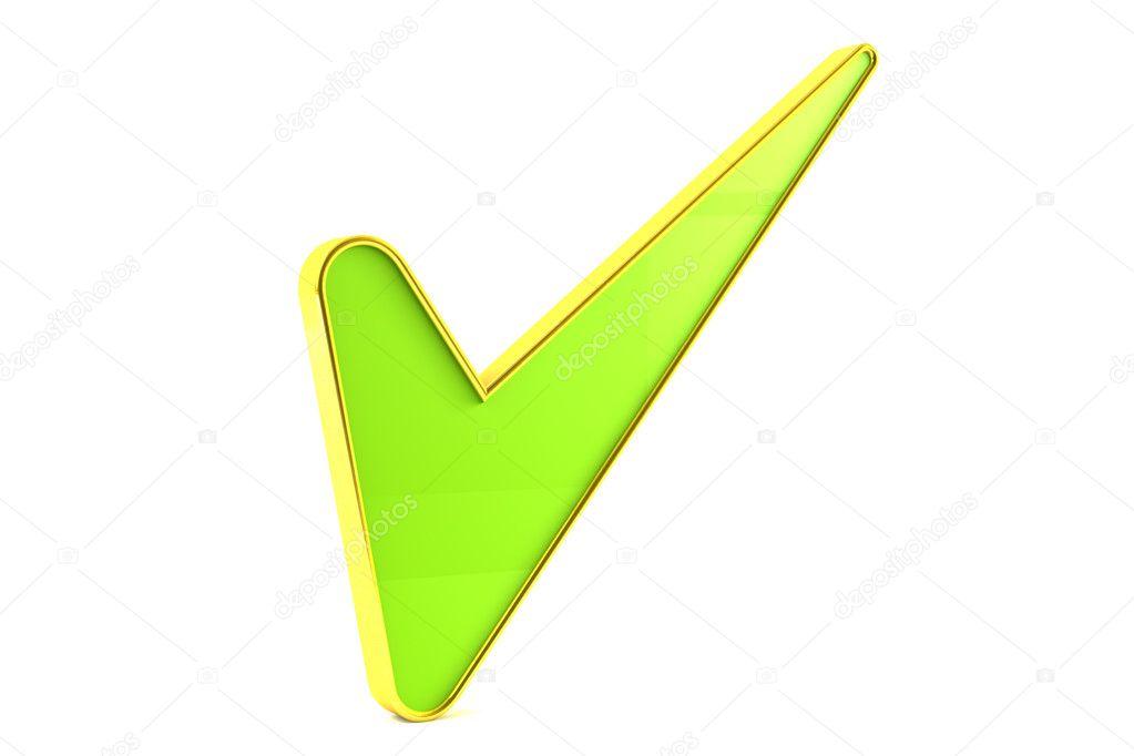 Signo De Tick Verde Fotos De Stock Pixelfeger 6316742