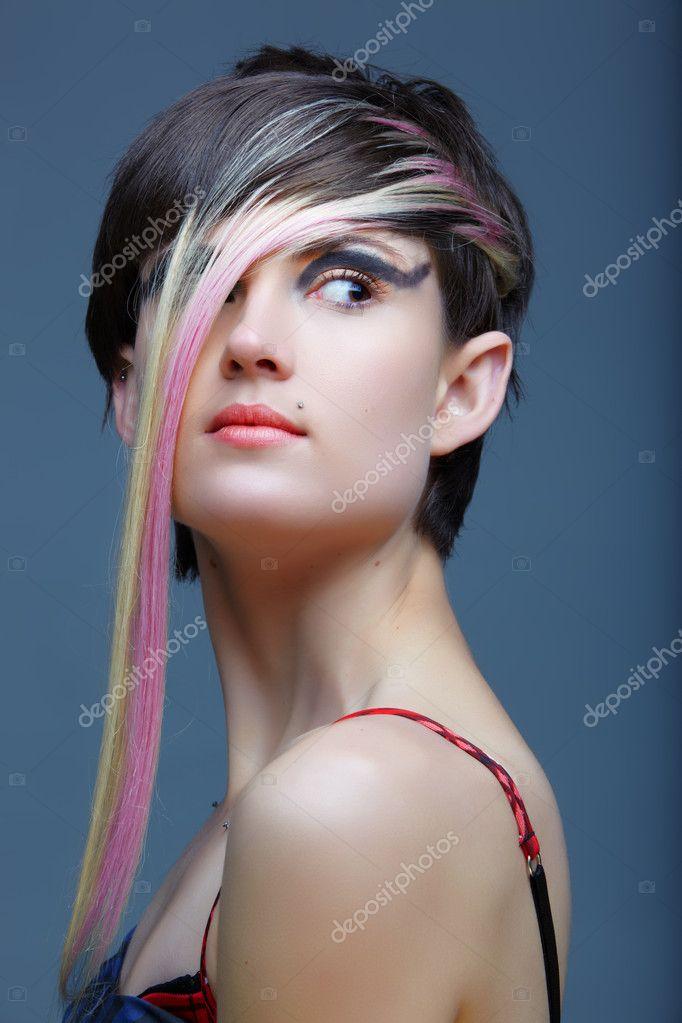 Фото эмо девушек блондинка и брюнетка, фотогалерея ебли зрелых баб