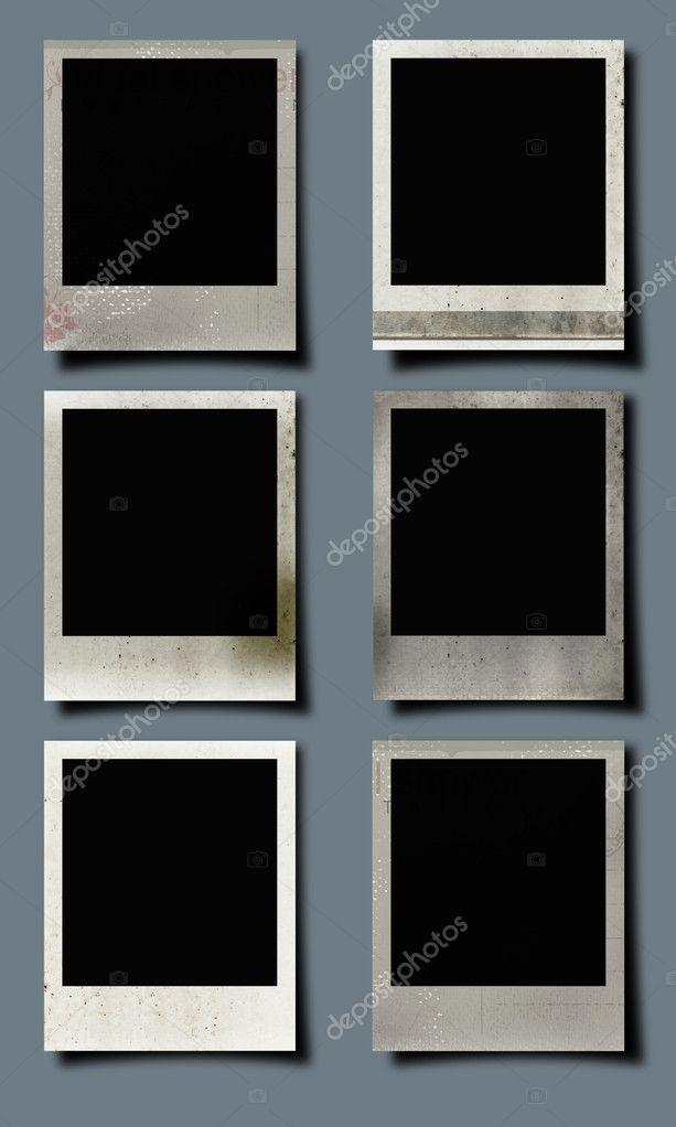 Satz von 6 instant Bilderrahmen — Stockfoto © lubavnel #5396238