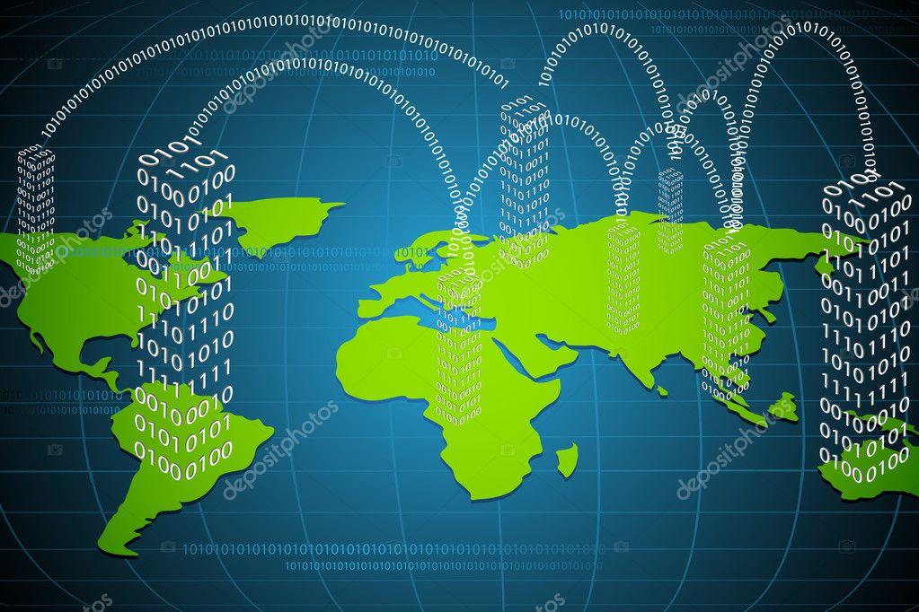Virtual world stock vector vectomart 5718299 virtual world stock vector gumiabroncs Choice Image