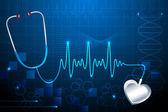 Stethescope ukazovat tlukot srdce