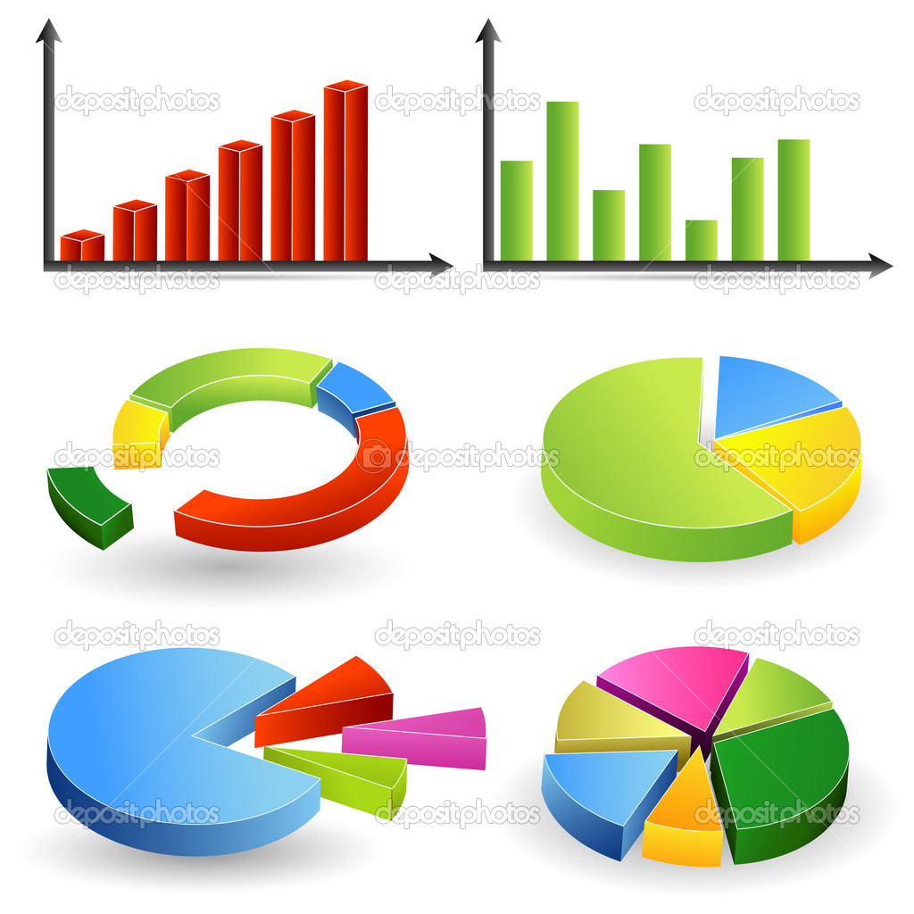 Bar graph and pie chart stock vector vectomart 6211603 bar graph and pie chart stock vector nvjuhfo Image collections