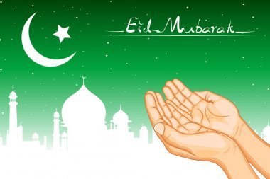 Praying for Eid