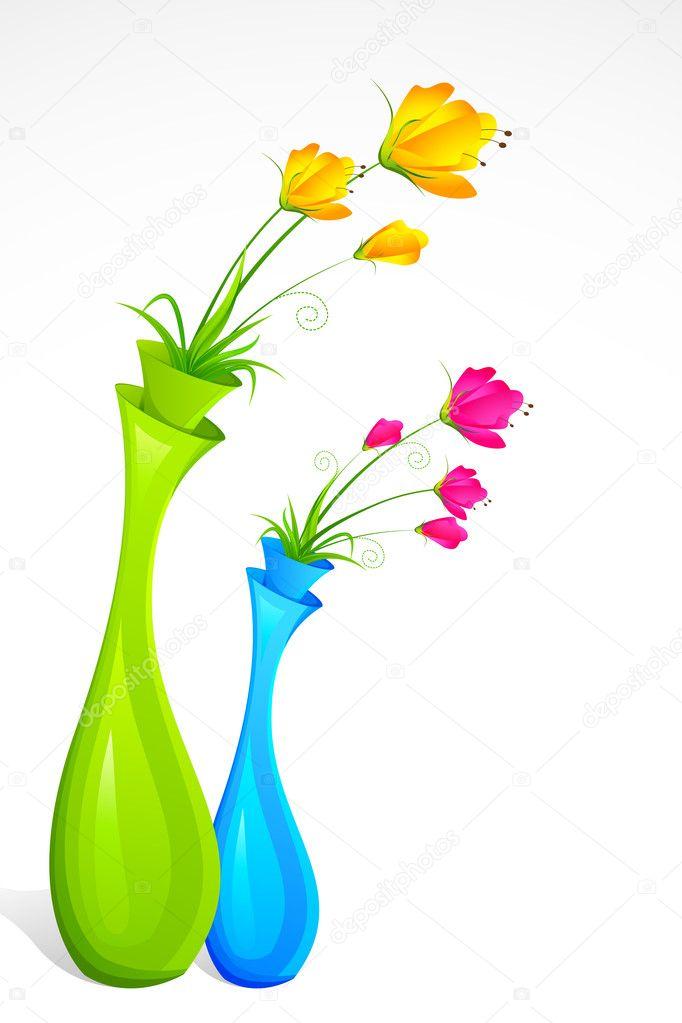 Flower Vase — Stock Vector © vectomart #6584738 on books vector, basket vector, art vector, box vector, decor vector, candle vector, animals vector, roses vector, floral vector, pottery vector, mirror vector, beer mug vector, teapot vector,