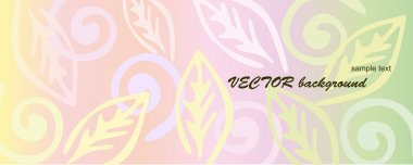 Pink floral background.