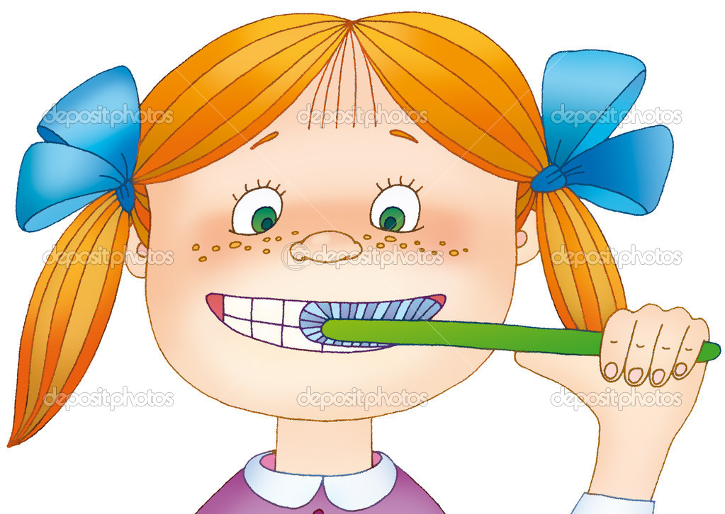 Дети чистят зубы картинки для детей