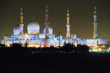Illuminated Mosque