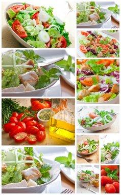 Collage salad