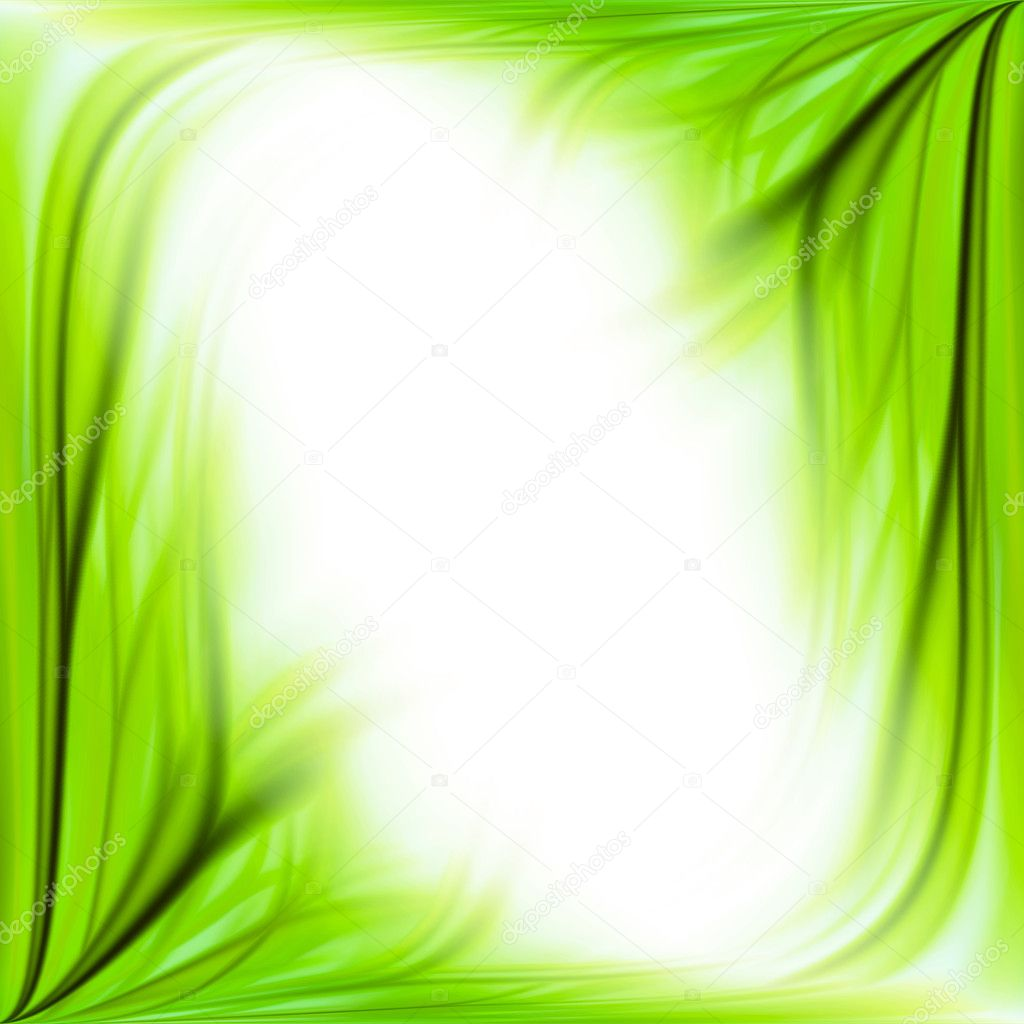 Green grass frame background
