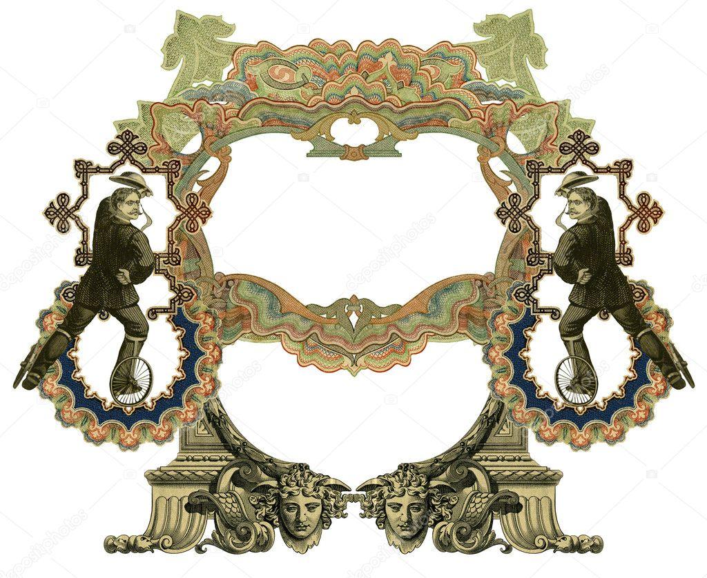 alte Rahmen — Stockfoto © markaumark #5966261