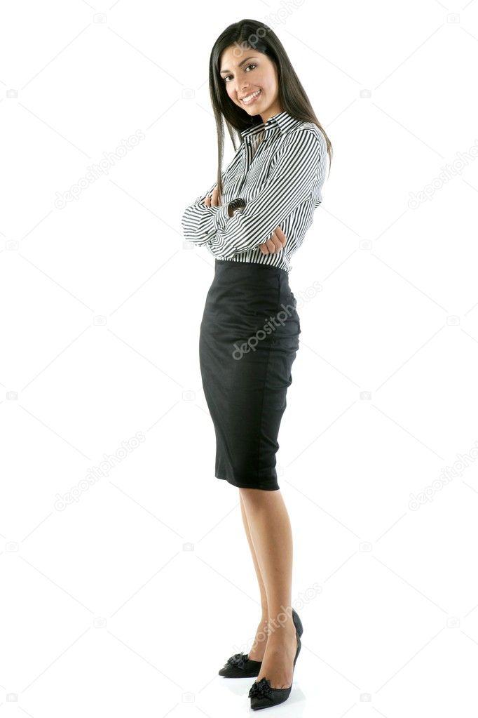 sexy berufstätige Frau