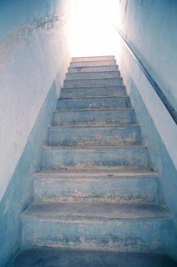 Stairway to light, metaphor to heaven