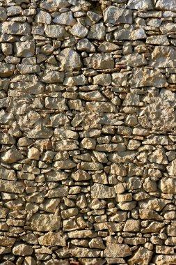 Кладка в Испании, старые каменные стены
