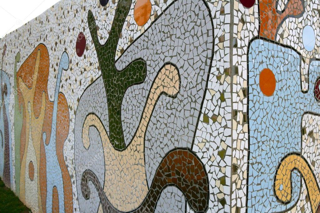 Mediterrane patchwork fliesen mosaik wand stockfoto tono balaguer 5507784 - Fliesen patchwork ...