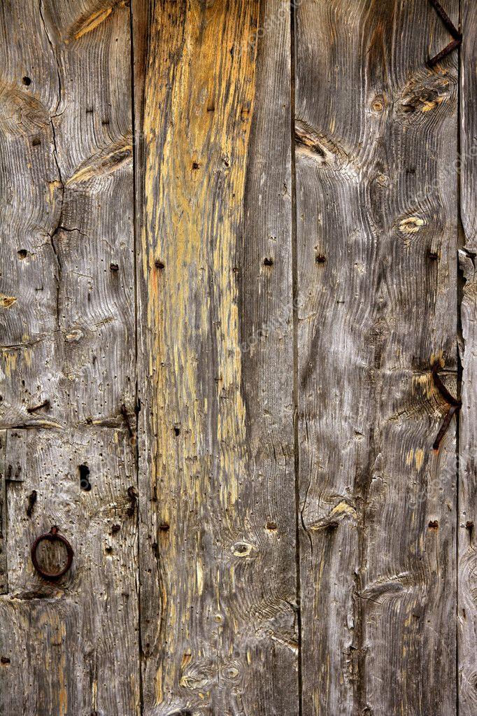 textura de madera antigua envejecida de puertas de madera antiguas u foto de lunamarina