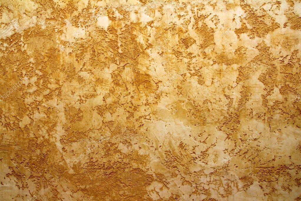 Sfondo grunge texture di parete giallo ocra foto stock - Parete giallo ocra ...