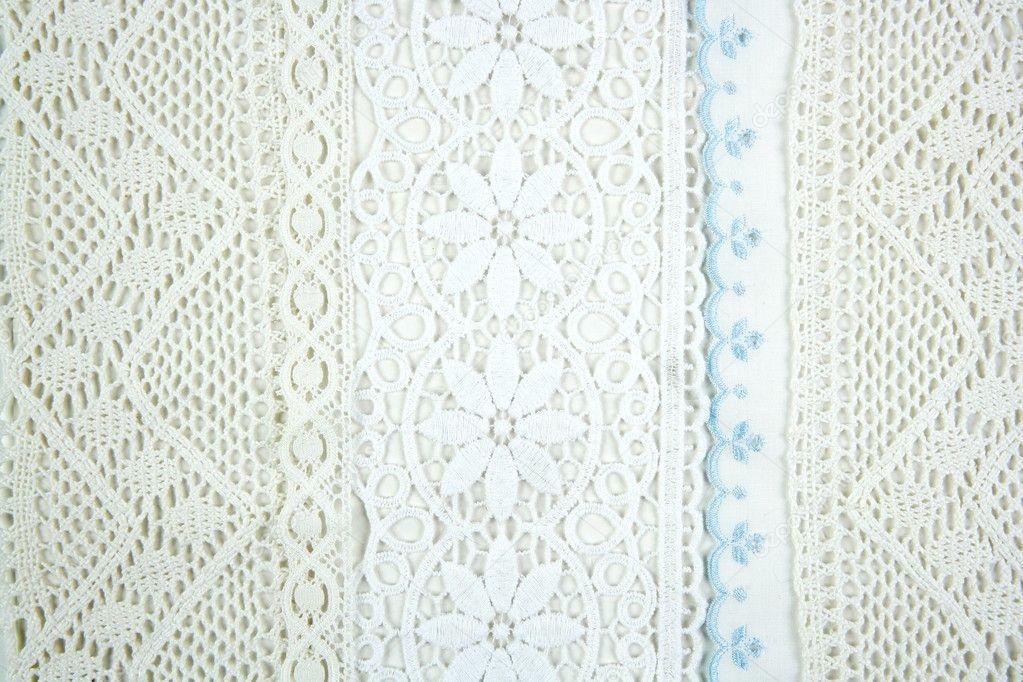 manteles bordados tela artesanía arte — Fotos de Stock © TONO ...
