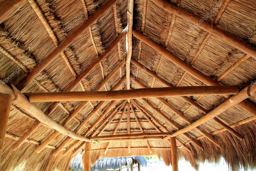Superior Caribbean Wooden Sun Roof Palapa In Mexico U2014 Photo By Lunamarina