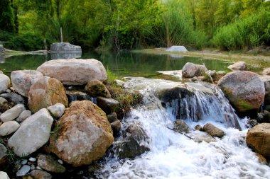 Mijares river near Montanejos nature Castellon