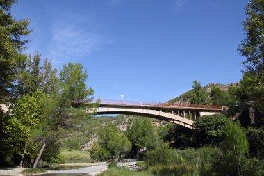 Bridge in Montanejos over Mijares River Castellon