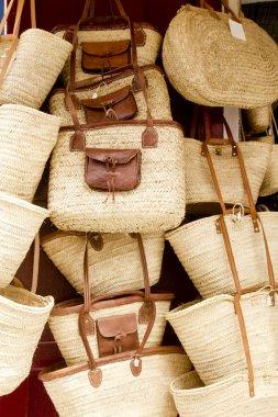 Basketry basket shop Ibiza Balearic Island