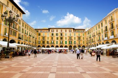 Majorca Plaza Mayor in Palma de Mallorca
