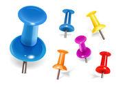 barevné kolíky