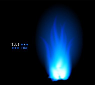 Fire ball flame burn vector background