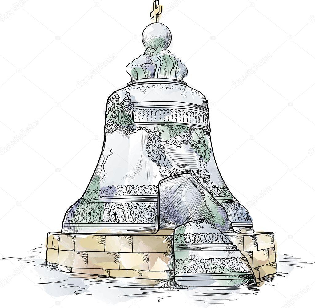 Картинки царь колокол распечатать
