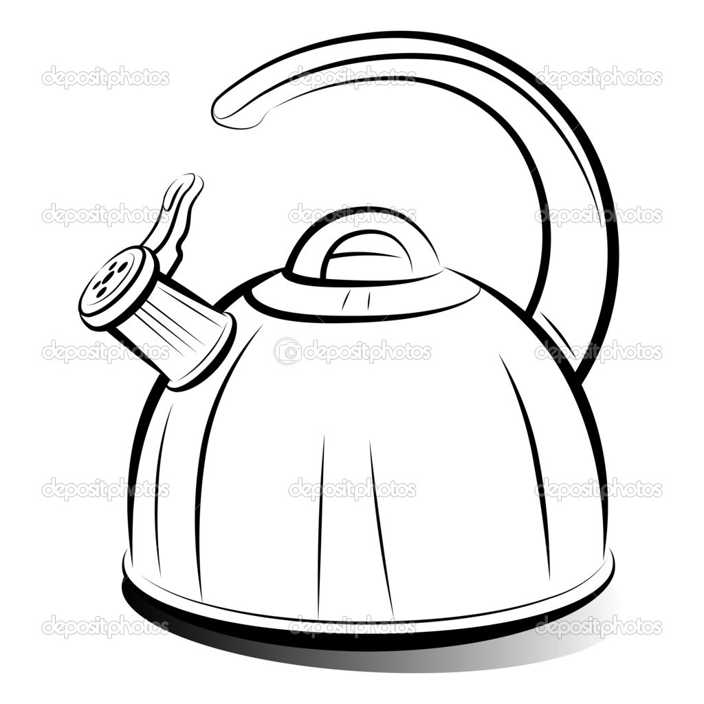 Kettle drawing www pixshark com images galleries with a bite