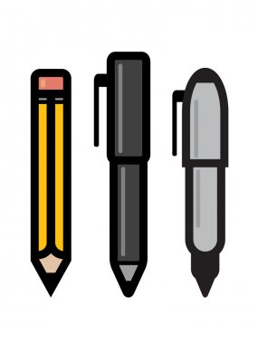 Set Of Writing Utensils