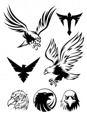 Eagle logos and symbols