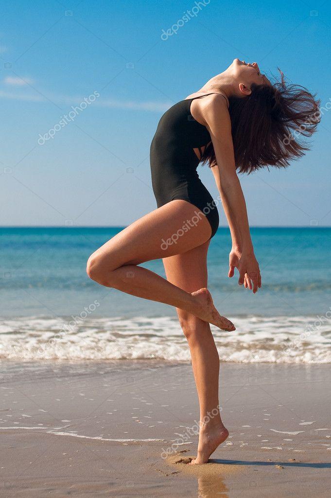 Ballet Dance on the Beach