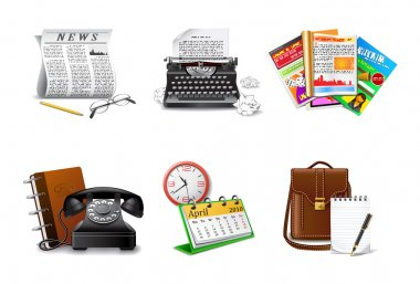 Journalism and press icons part 2