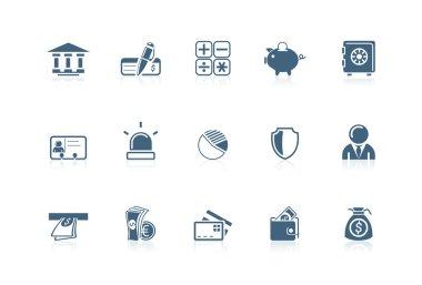 Bank icons | Picco series