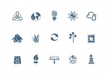 Environmental icons | Piccolo series
