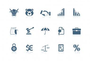 Financial icons | Piccolo series